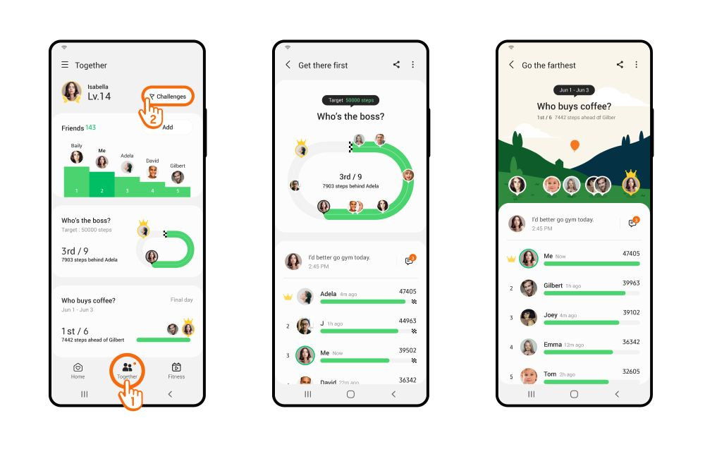 Samsung Health will soon let you challenge friends to fitness competitions