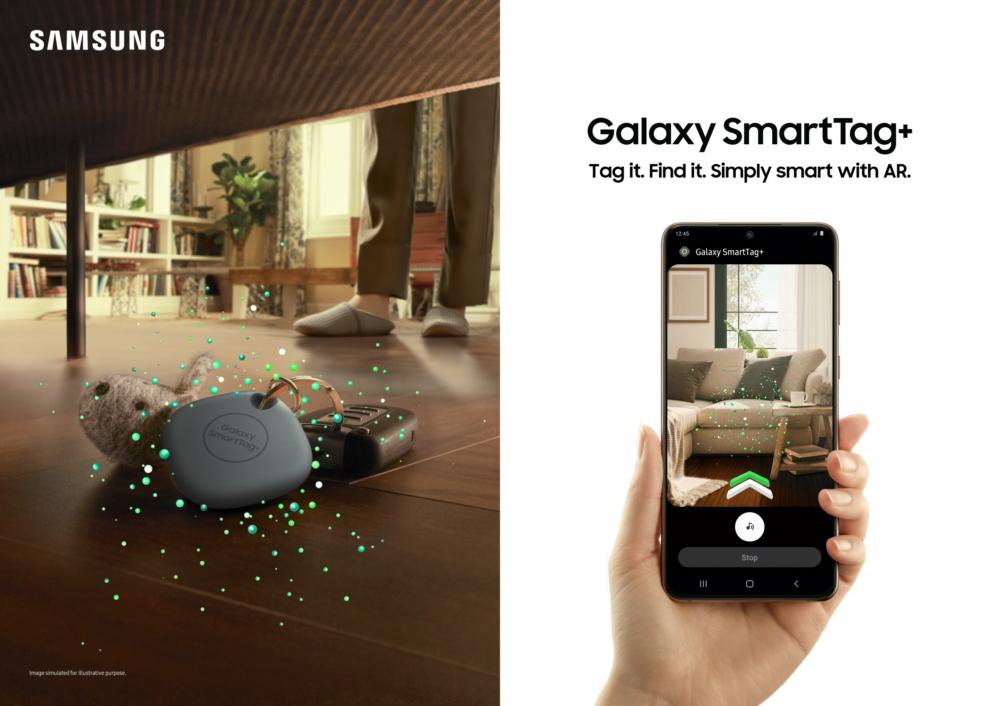 Samsung Galaxy SmartTag + SmartThings Find AR