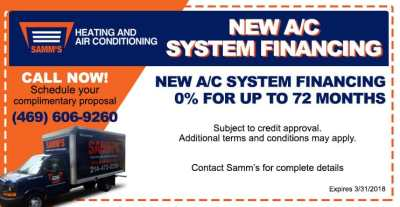 Air Conditioning & Heating Specials | HVAC Coupons | Plano, TX