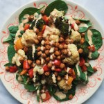 Mediterranean Roasted Vegetable Salad (GF + Vegan)