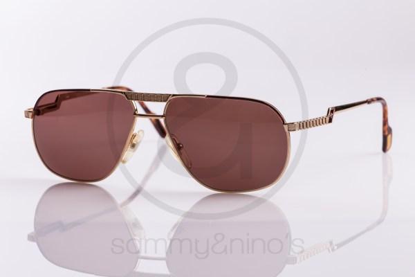 vintage Hilton sunglasses gold plated aviator frames sammyninos 1