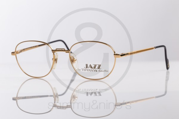 vintage Tiffany TJ15 sunglasses goldplated sammyninos eyewear frames 1