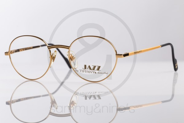 vintage Tiffany TJ32 sunglasses goldplated sammyninos eyewear frames 1