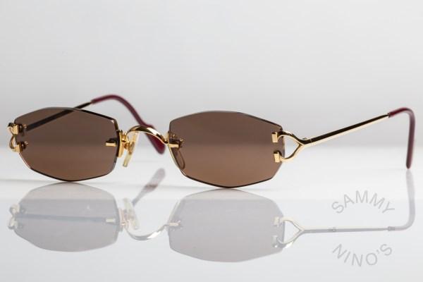 cartier-sunglasses-vintage-capri-rimless-1