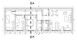 Osnova prizemne kuće