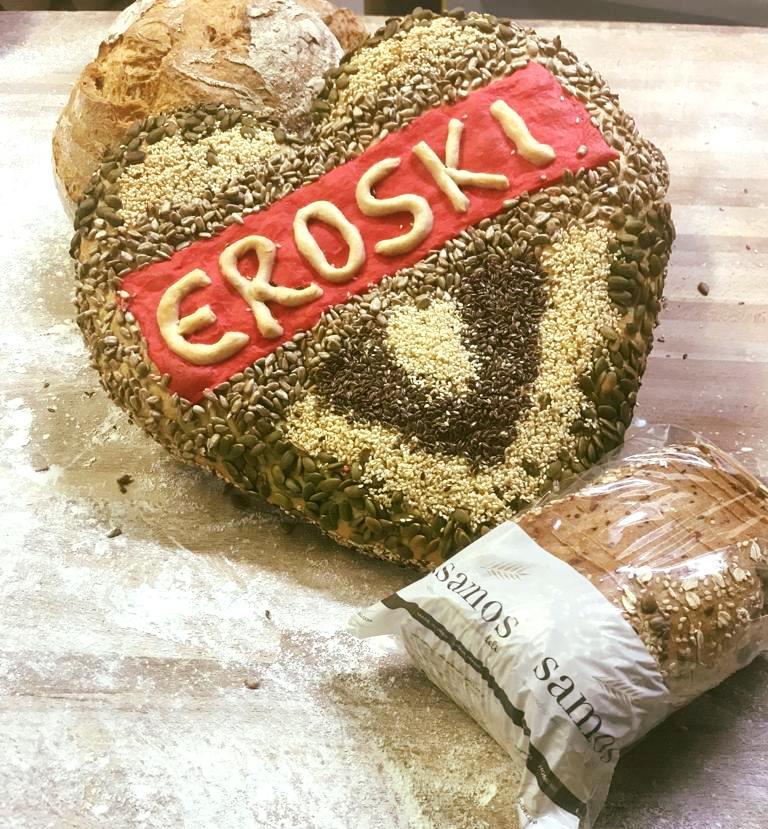Samos Deli Bread at eroski