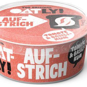 ¡OATLY! Aufstrich tomate y basilikum