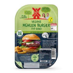 Vegan burger typ rind