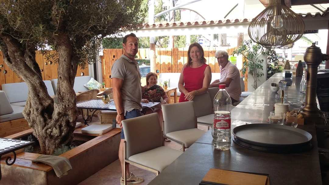 Samos Group Ibiza Family 2020 at The Village Bar & Restaurant Siesta