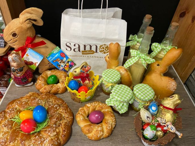Easter with Samos Deli homemade products
