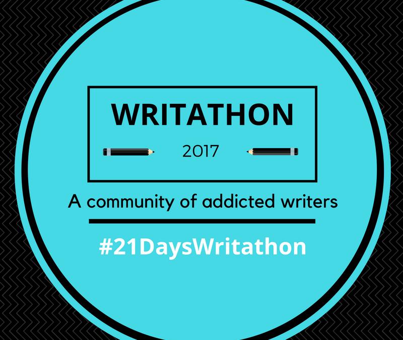 Join Writathon – 21 Days Writing Challenge