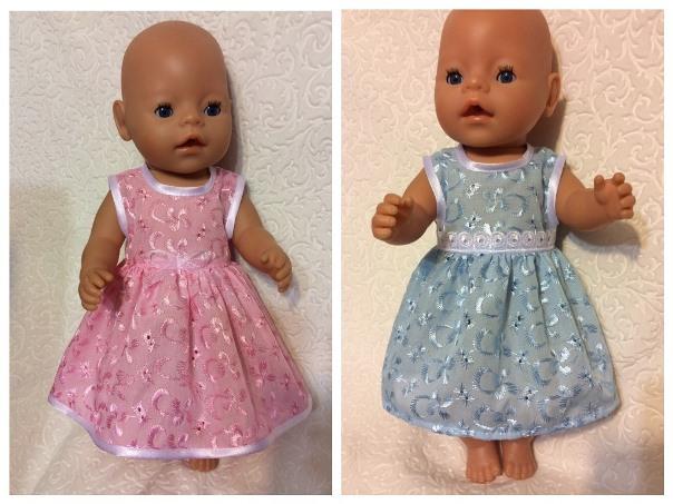 Kleidung für Puppe Beby geboren mit ihren eigenen Händen