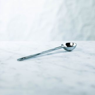 metal teaspoon for measuring tea