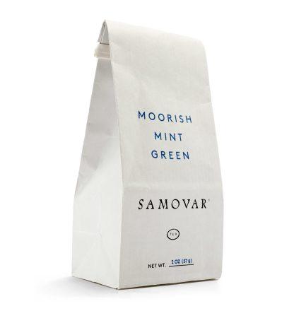 Moorish mint - White Bag - Front - 0202MOMIBG