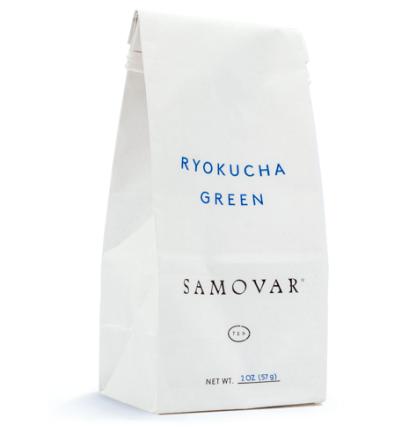 Ryokucha - White Bag - Front - 0202RYOKBG