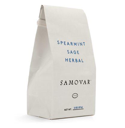 Spearmint Sage - White Bag - Front - 0602SPSABG