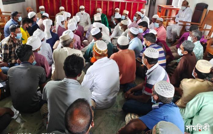 IMG 20210624 WA0006 4 রামপালে খুলনা সিটি মেয়রের আশু রোগমুক্তি কামনায় দোয়া মাহফিল