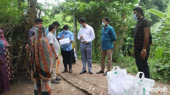 n 6 নাটোরের গুরুদাসপুরে ৩৩৩ নম্বরে ফোন করে ৩৭০ পরিবার পেলেন খাদ্য সহায়তা