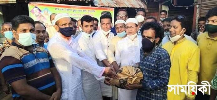 20210714 172256 রামপালে সাংসদ তন্ময় এর খাদ্য সহয়তা পেল ১৫০০ দুস্থ পরিবার