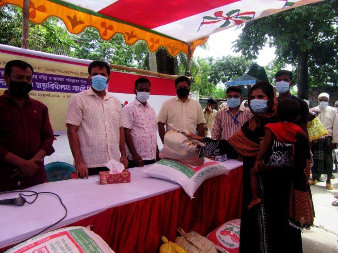 Food Support 2 ঢাকা আহ্ছানিয়া মিশনের উদ্যোগে ১০২৫ অতিদরিদ্র পরিবারের মাঝে খাদ্য সহায়তা ও স্বাস্থ্য সামগ্রী বিতরণ