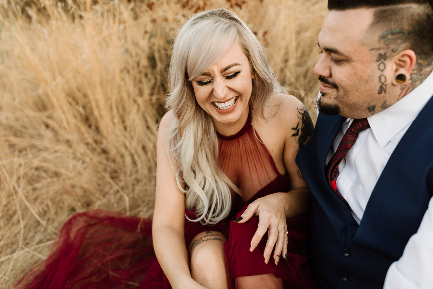 Rugged, Romantic Engagment Session by Sam Payne Photo