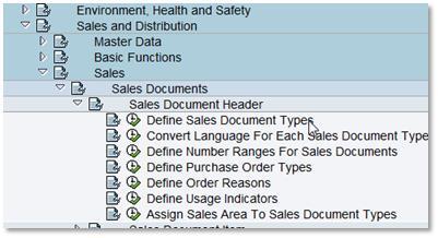number range setting for sales order billing deliveries and