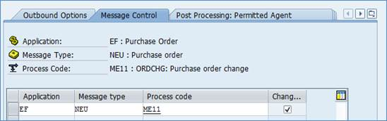 Outbound Order Change ORDCHG Configuration - My Experiments