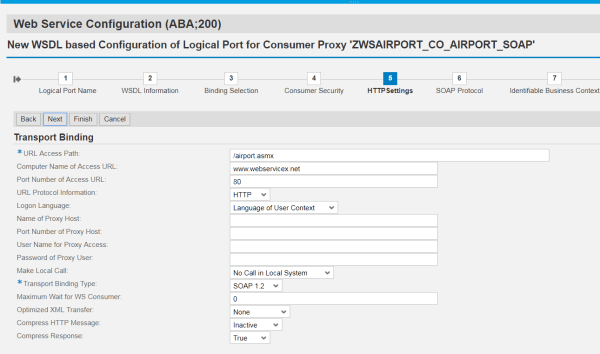 Consuming Webservice in SAP ABAP - My Experiments with ABAP