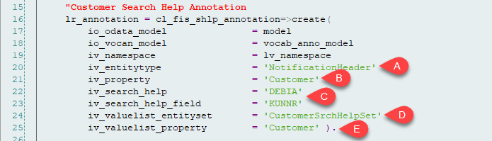 How to Implement Value Help using Smartfield and Odata Annotation