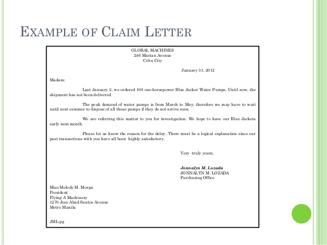 LETTER OF AUTHORIZATION TO CLAIM CHECK Sample & Templates