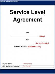 08/01/2020· service level agreement template example #4: Service Level Agreement Sla Template Excel Word Templates