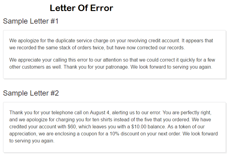 Correct Format To Reply To A Letter