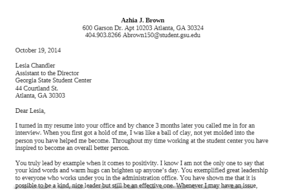 Letters Of Recommendation For Old Person