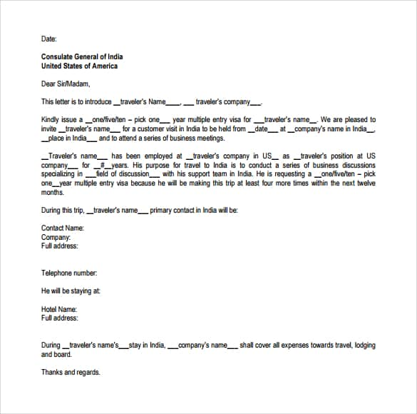 Invitation Letter 40
