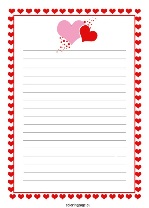 Top Beautiful Love Letter Templates  SampleloveletterNet