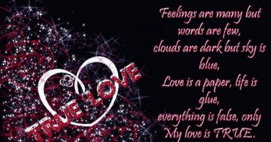 Emotional Feelings of LOVE