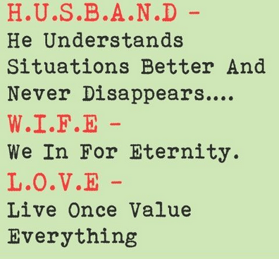 wife husband funny jokes