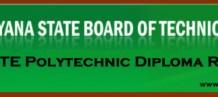 HSBTE Polytechnic Diploma Results 2015
