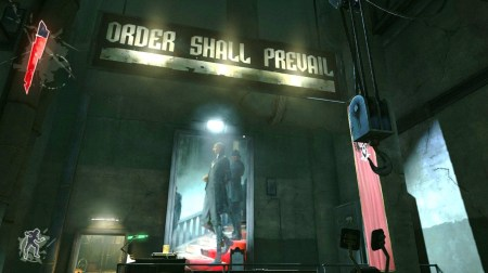 Order Shall Prevail banner in Dishonored