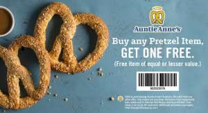 Auntie Annes BOGO