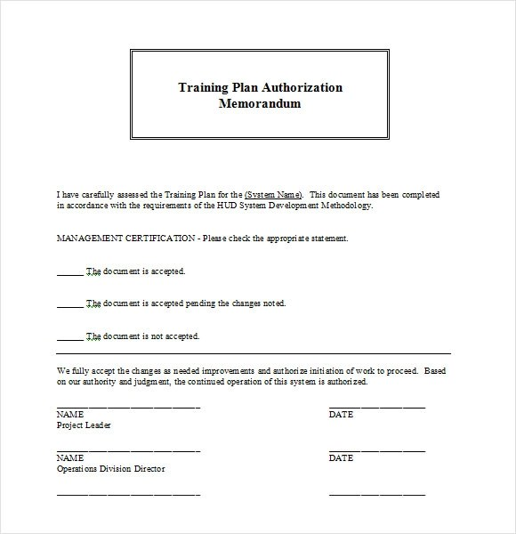 training plan template word