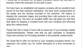 6 company introduction letter templates retirement letter to company