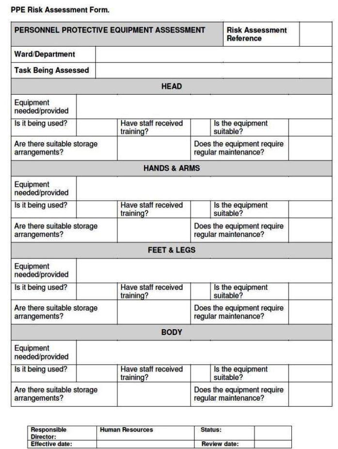 Fire Safety Risk Assessment Template SampleTemplatess