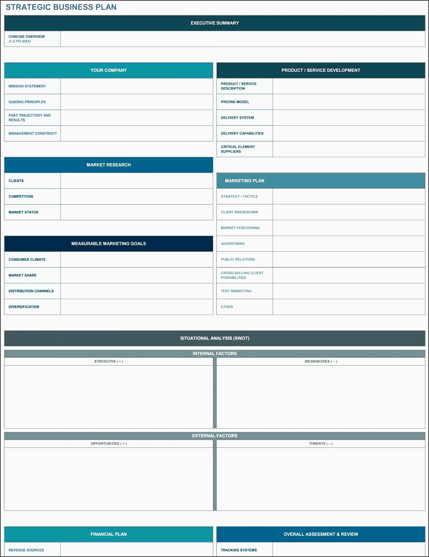 5 Advertising Plan Template In Excel