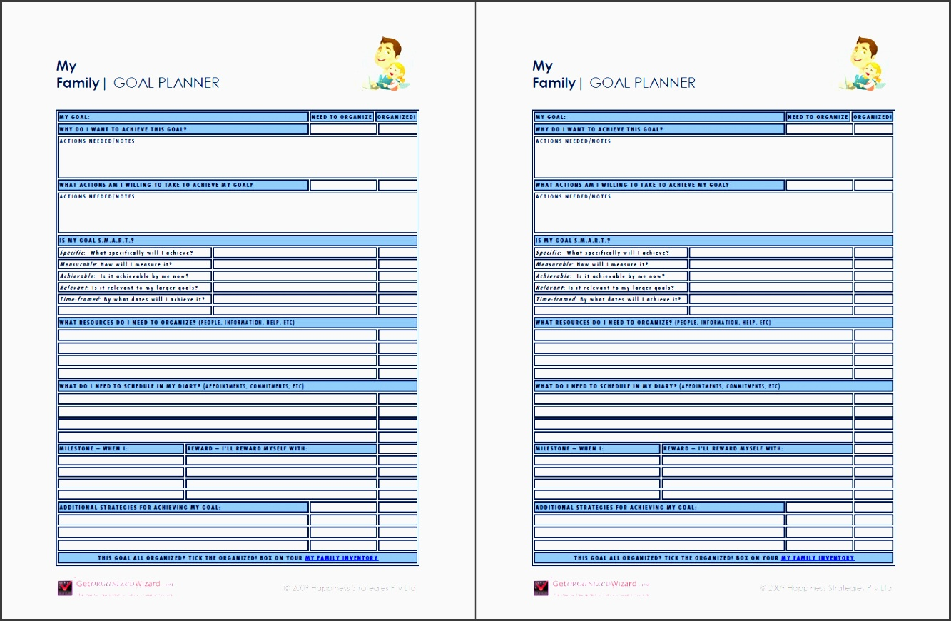 9 Career Planning Checklist Template