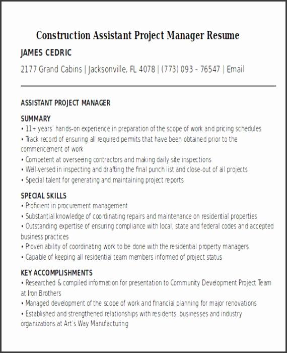 7 Construction Scope Of Work Draft SampleTemplatess