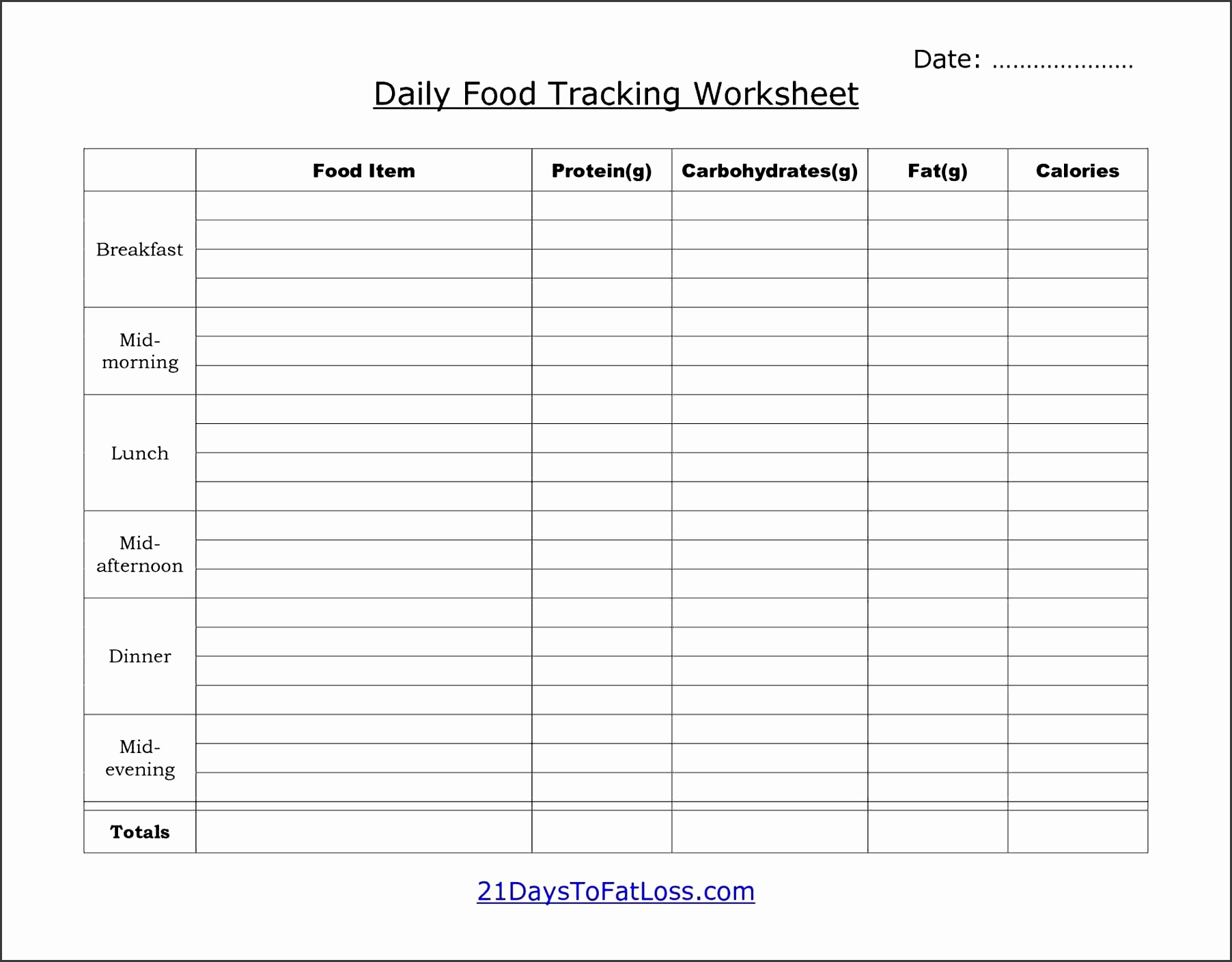 8 Daily Activity Log Template For Personal Use
