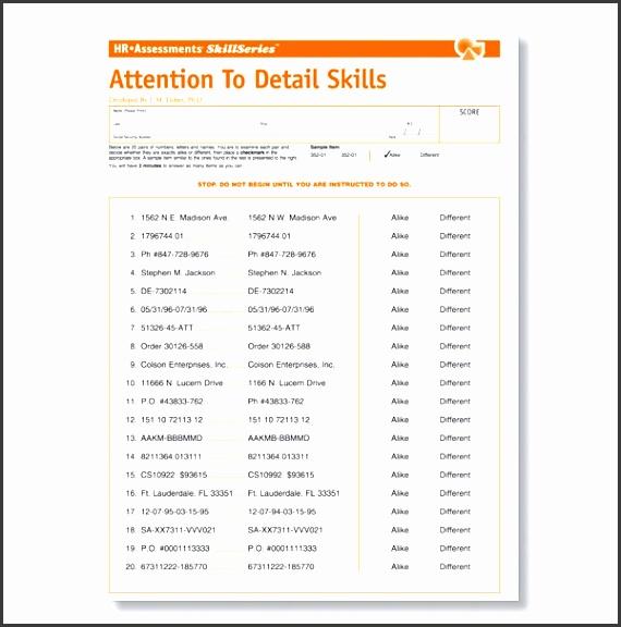 sample employee assessment