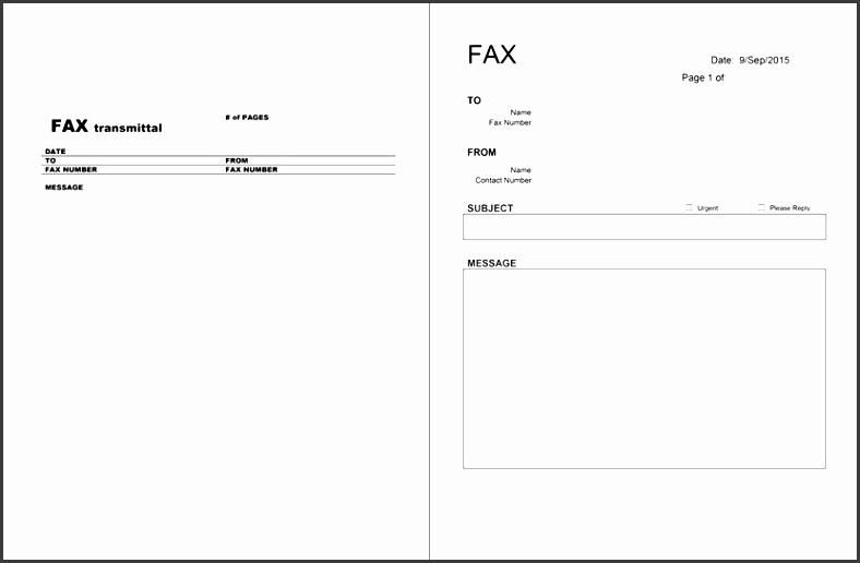 fax transmittal