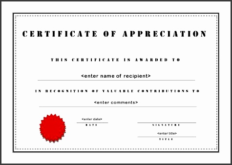 8 How to Design Certificate Of Appreciation